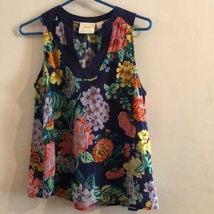 Anthropologie NWOT Maeve Floral Shirt